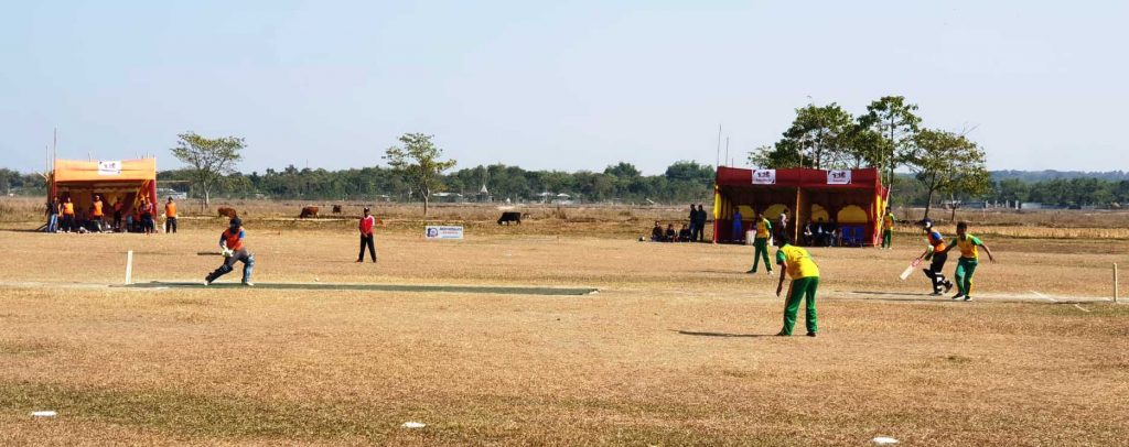 झापाको मेचीनगरमा प्रथम टि–टेन राष्ट्रिय क्रिकेट लिग सुरु