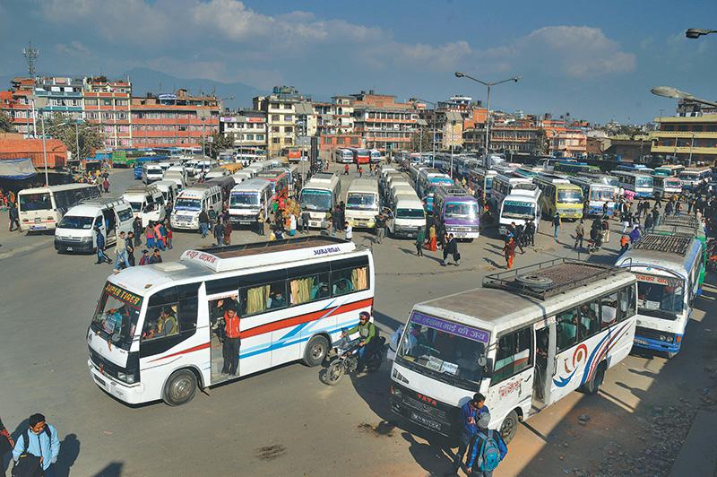 कोरोना नियन्त्रणका लागि लामो दुरीको यातायात सेवा बन्द