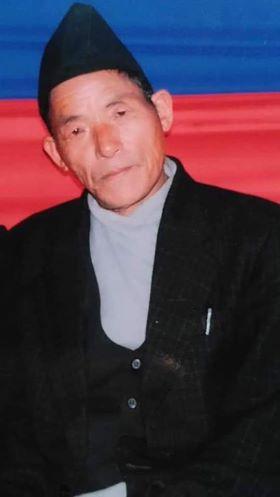 गायक मोहन मादेन पितृ शोकमा