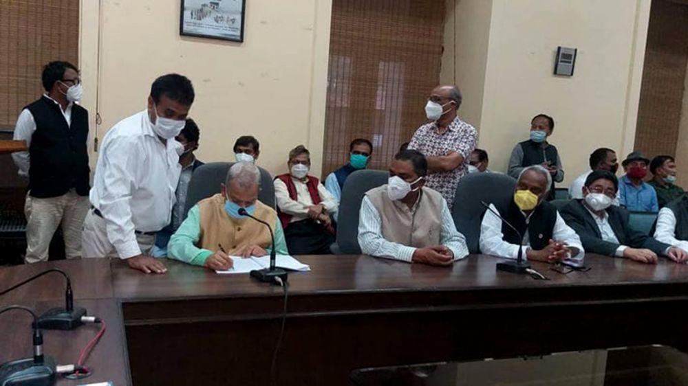जनता समाजवादी पाटी निर्वाचन कार्यलयमा दर्ता : ठाकुर र यादव केन्दीय अध्यक्ष