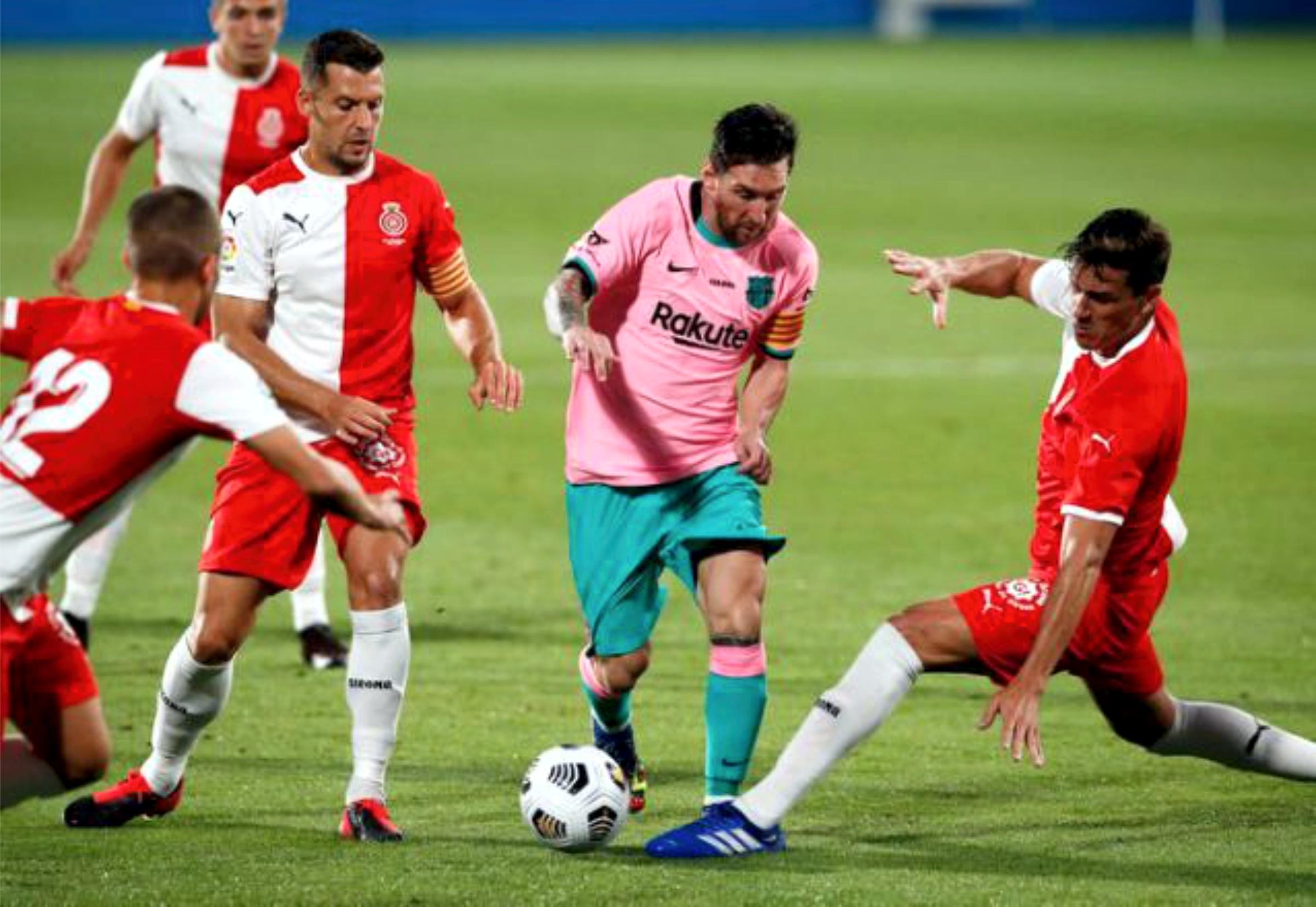 कप्तान मेस्सीको दुई गोल, बार्सिलोनाको सहज जित