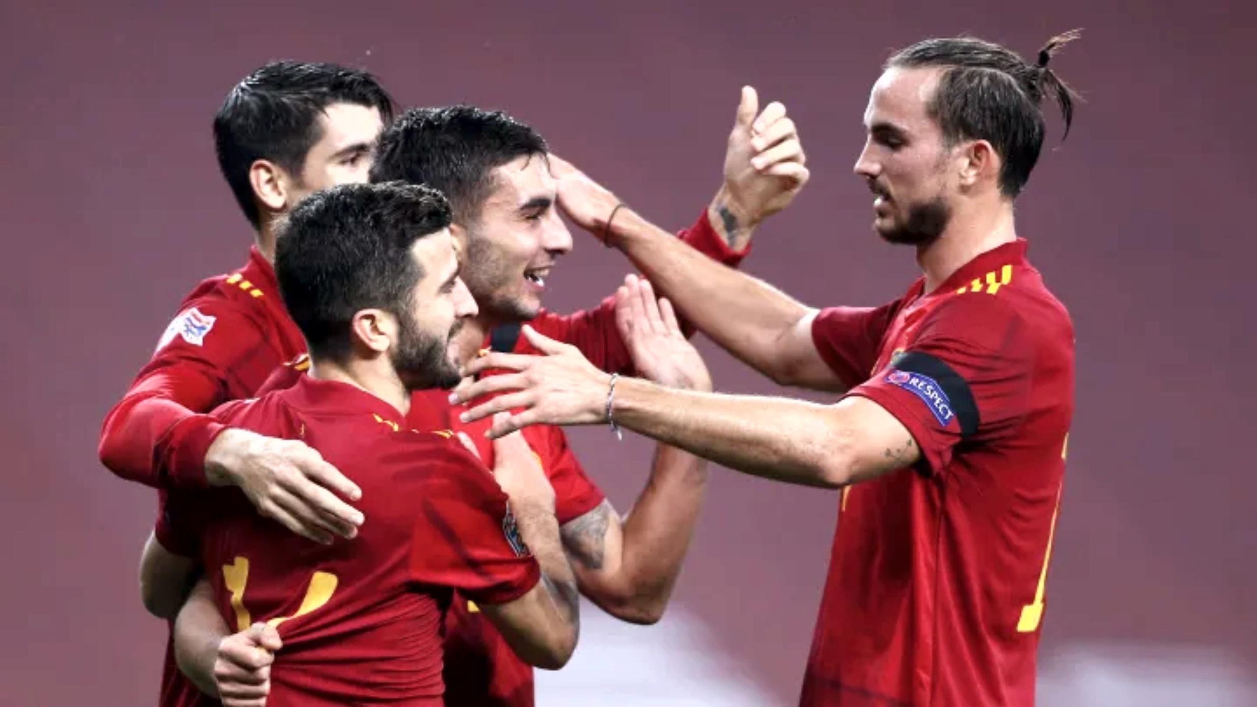 यूईएफए नेसन्स लिग : जर्मनीको पोस्टमा स्पेनको ६ गोल