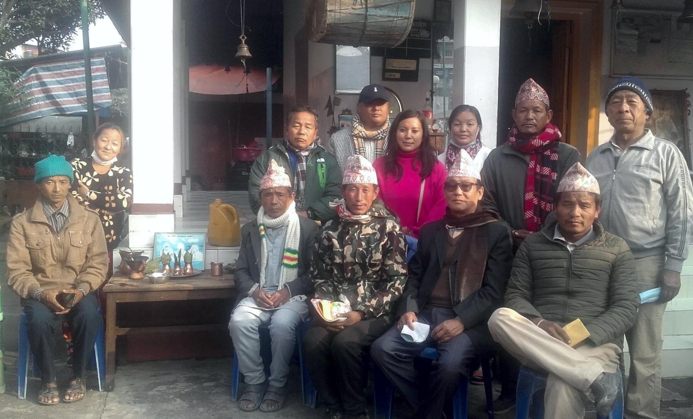 सुनसरीमा किरात धर्म लेखौं अभियान संगठन विस्तार