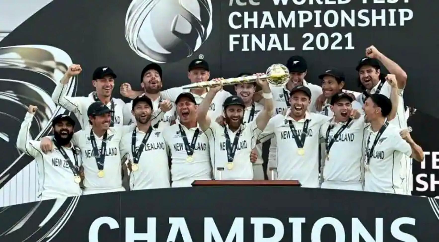 आईसीसी विश्व टेस्ट च्याम्पियनसिपको उपाधि न्युजिल्याण्डलाई
