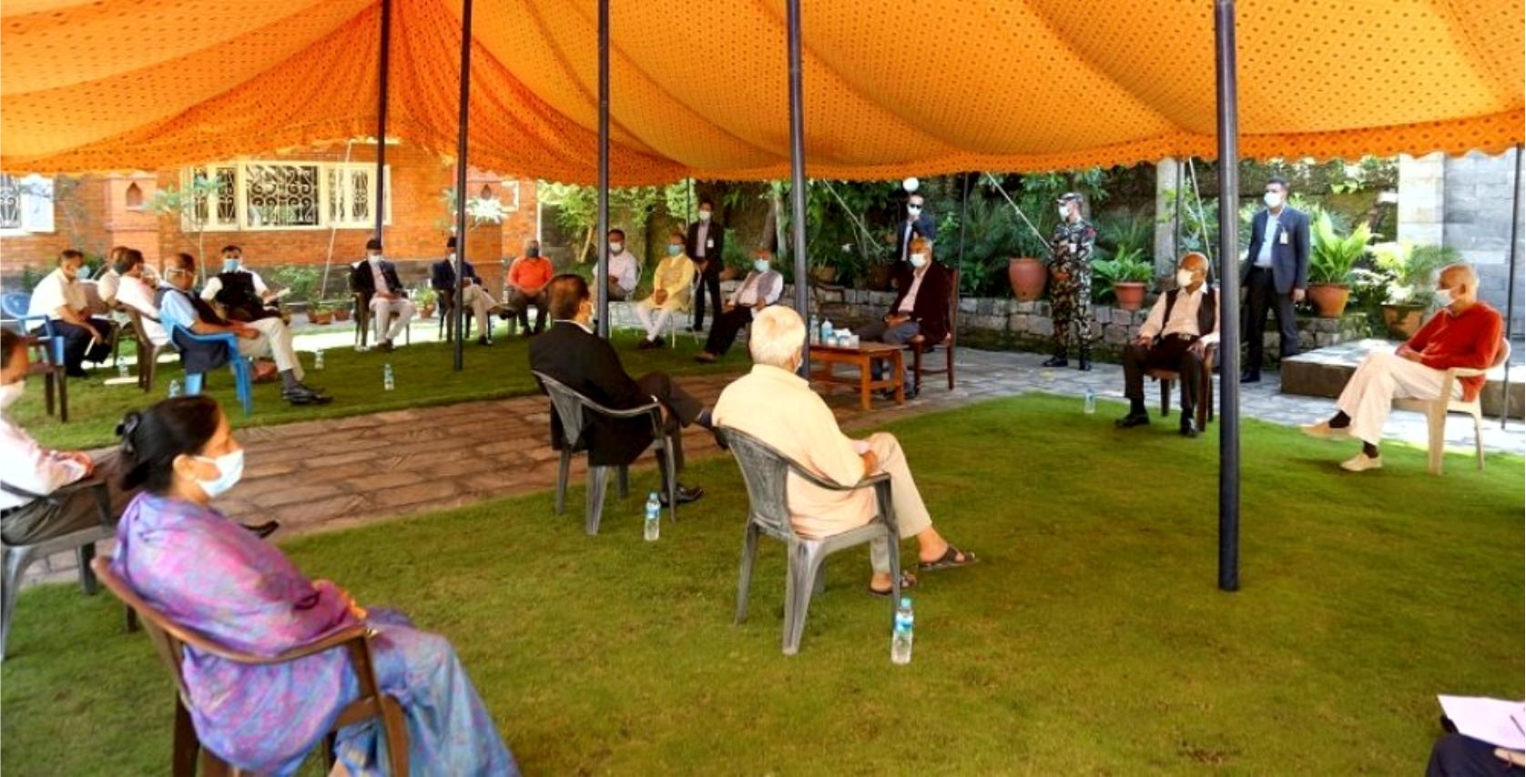 नेपाली कांग्रेसको तल्लो तहका सबै अधिवेशन स्थगित