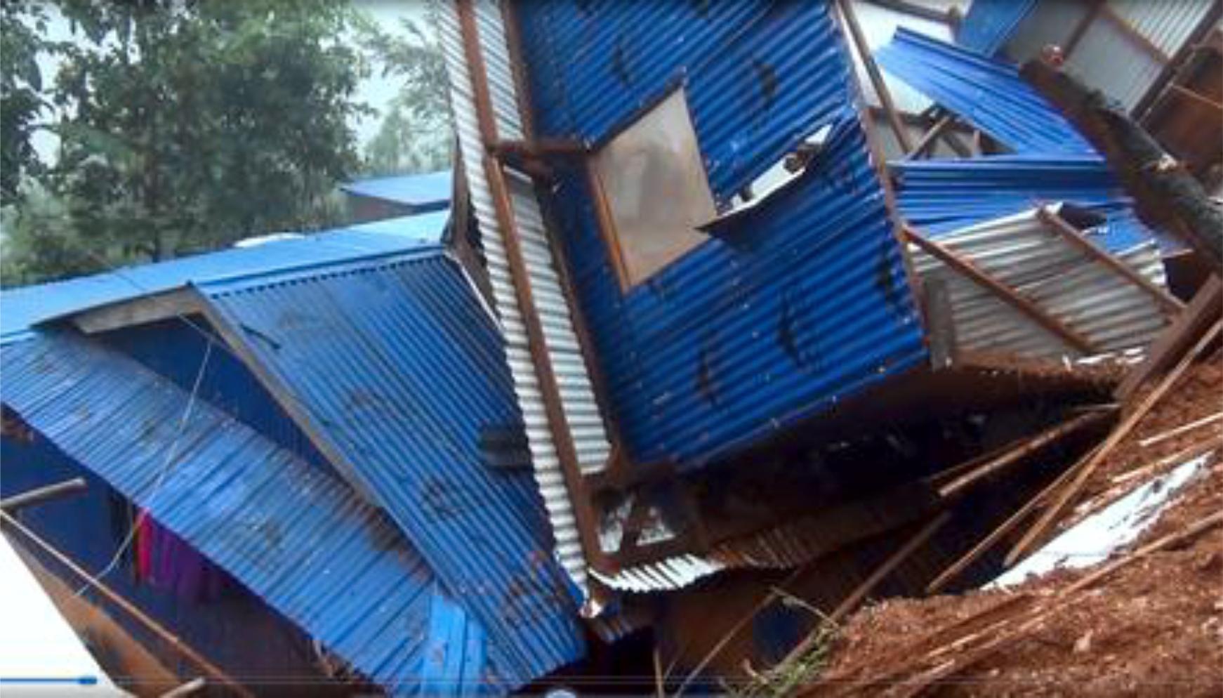 एकै घरमा ११ सहित पाँचथरमा पहिरोले पुरिएर २७ जनाको मृत्यु